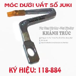 118-884 Móc dưới máy vắt sổ công nghiệp JUKI MO2500 HOẶC KINGTEX