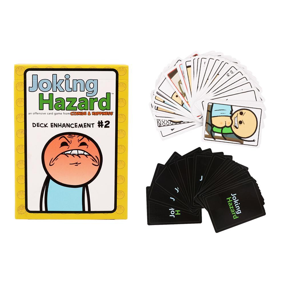 babifry 1 Set Joking Hazard Card Game Family Gatherings Board Game for Party Fun