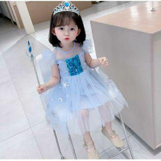 Váy Elsa Cho Bé Mẫu Mới (9-35kg )