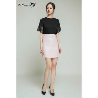Chân váy chữ A thiết kế IVY moda MS 31B4286 thumbnail