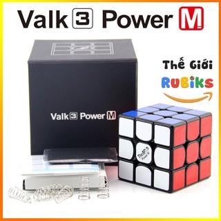 The Valk 3 Power M Rubik 3×3 Qiyi Nam Châm Chính Hãng – The Valk 3 Power M Rubik 3x3x3 Qiyi Trơn, Hàng Xịn