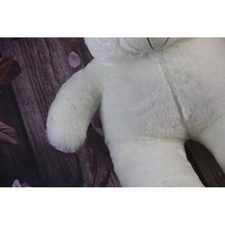 Quà Sinh Nhật Gấu Bông Onep.ess Màu Trắng Siêu Đáng Yêu DAN2869
