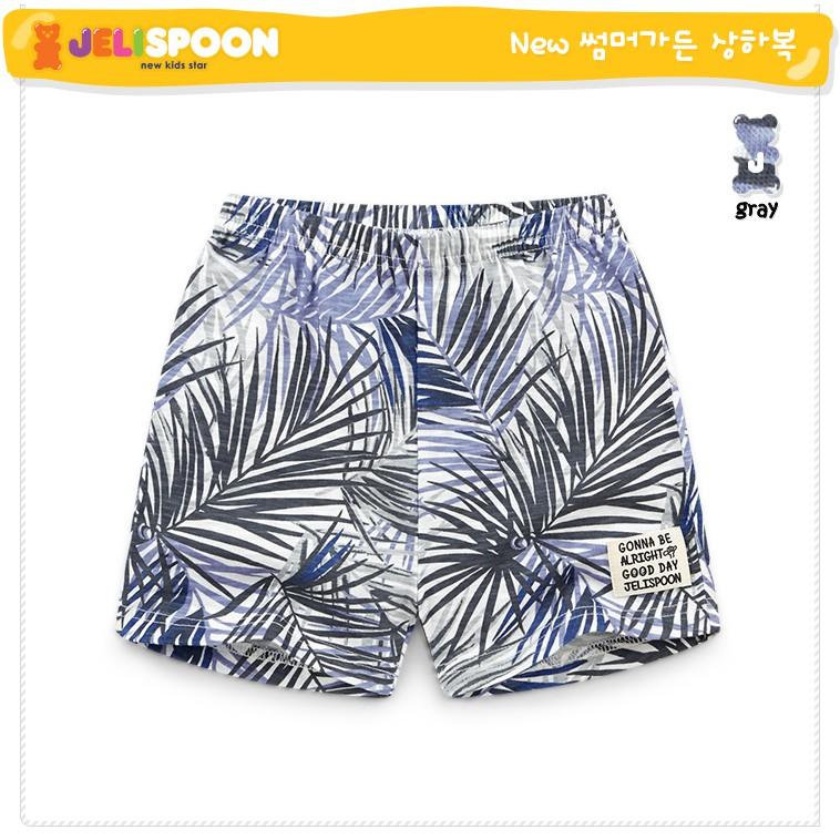 (110,130)Quần xuất Hàn cotton họa tiết hoa lá cành Jelispoon JTPUIN03