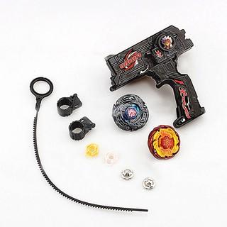 4D Launcher Grip Spinning Top Set -Black