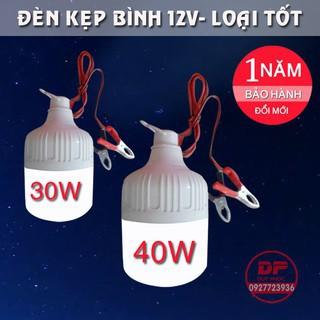 Bóng đèn Led Trụ 50W kín nước kẹp bình ắc quy 12V - 50W kẹp ắc quy 12V