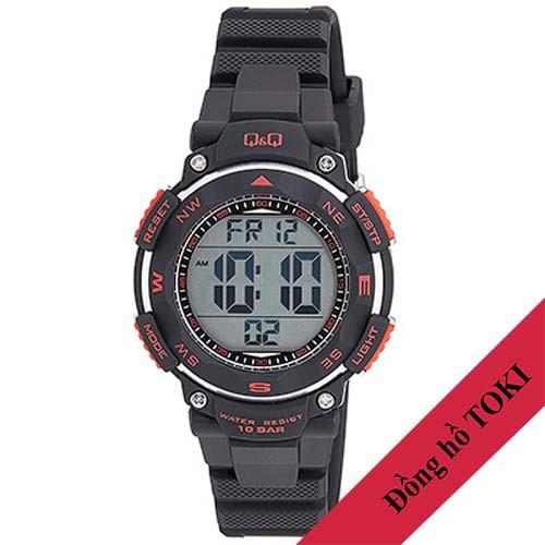 Đồng hồ điện tử Q&Q Citizen M149J001Y dây nhựa