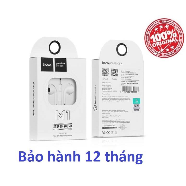 Tai nghe IP Hoco M1 Chính hãng - 10056588 , 1082446865 , 322_1082446865 , 98000 , Tai-nghe-IP-Hoco-M1-Chinh-hang-322_1082446865 , shopee.vn , Tai nghe IP Hoco M1 Chính hãng