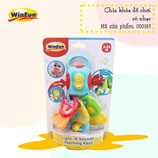 Chìa khóa đồ chơi có nhạc Winfun – 0185NL