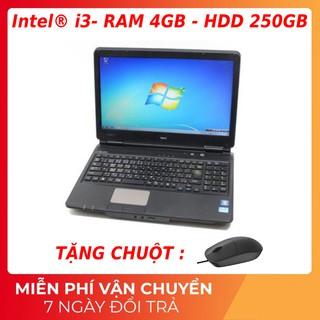 laptop Máy tính xách tay nhập khẩu Core I3 (4cpu), nguyên zin, tốc độ cực nhanh. thumbnail