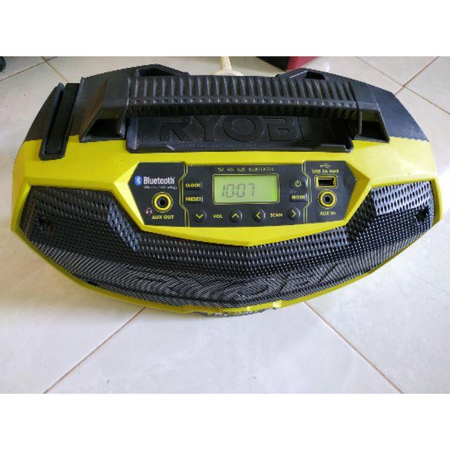 Loa radio bluetooth Ryobi R18HR