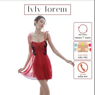 Váy ngủ ren nữ Lylylorem VN051 thumbnail