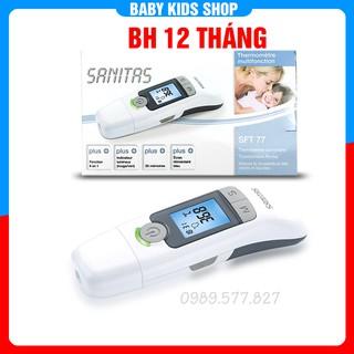 Nhiệt kế điện tử hồng ngoại cảm ứng đo trán đo tai Sanitas Đức đo không tiếp xúc độ chính xác cao - Bảo Hành 12 tháng thumbnail