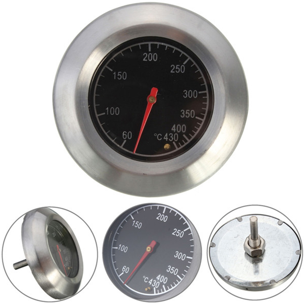 60 - 430℃ Stainless Steel Thermometer For Barbecue Grill And Baking Oven