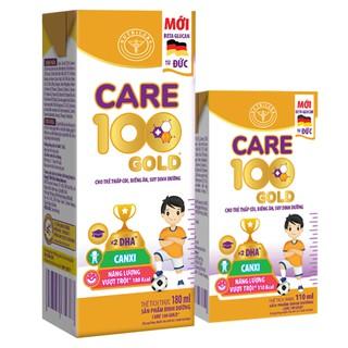 Sữa bột pha sẵn Care 100 gold cho trẻ biếng ăn, thấp còi loại 110ml