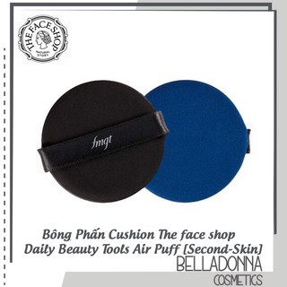 Bông phấn Cushion The Face Shop Air Puff Second Skin thumbnail