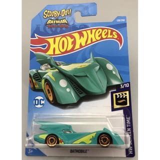 Xe mô hình Hot Wheels Batmobile (The Brave and the Bold) FYC91