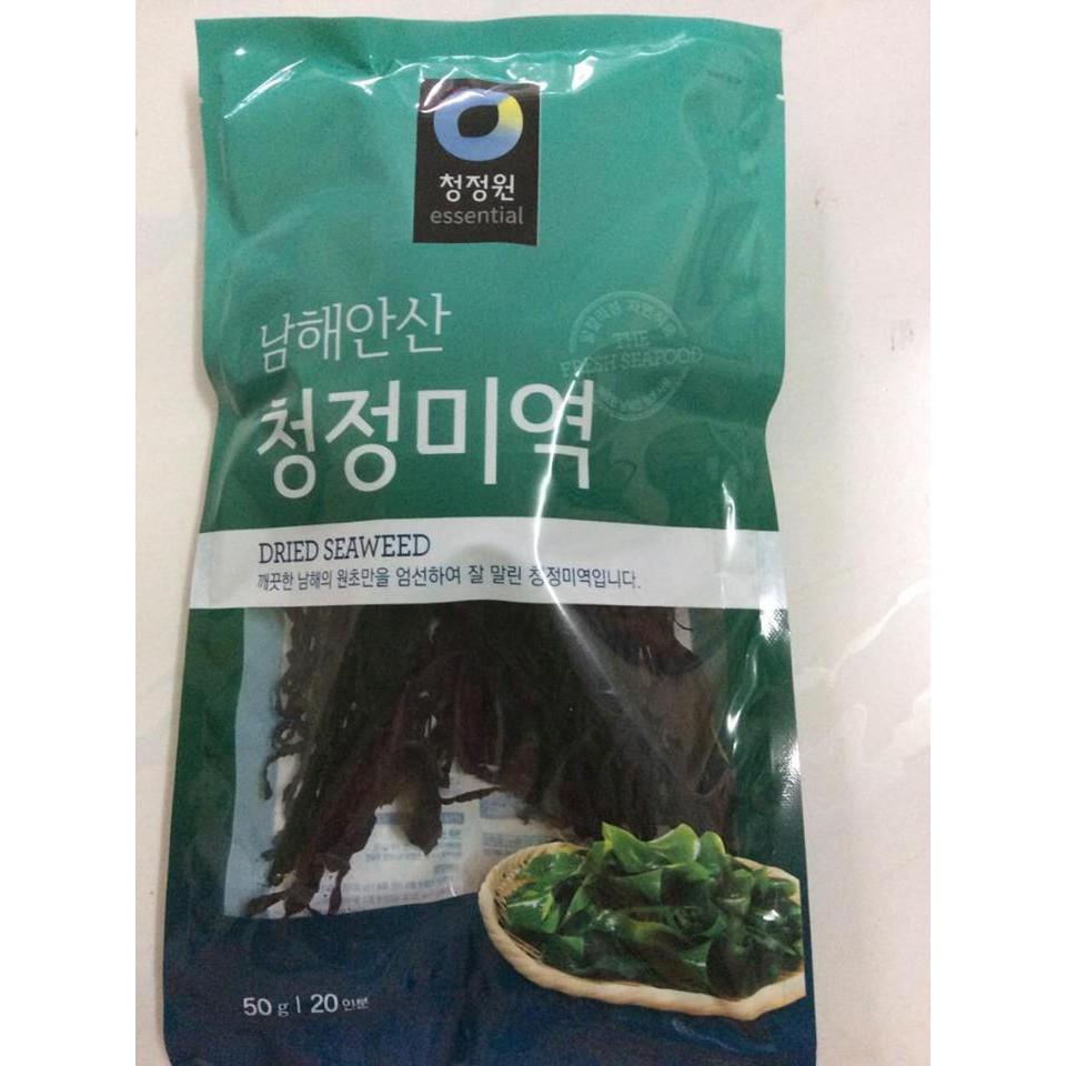 Rong biển khô Hàn Quốc 50gr