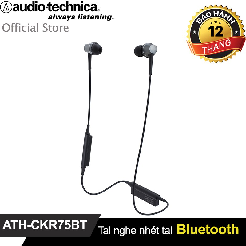 Tai nghe Bluetooth Audio-Technica in-ear ATH-CKR75BT