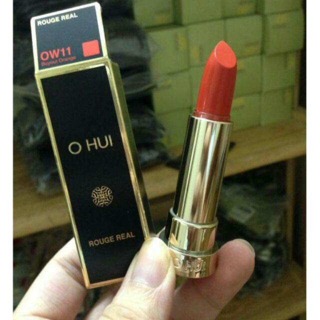 son môi OHUI Rouge Real nhiều màu lựa chọn.