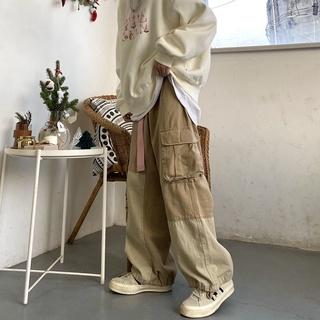 Quần jean dài dáng rộng ống túm thời trang mùa thu dành cho nam