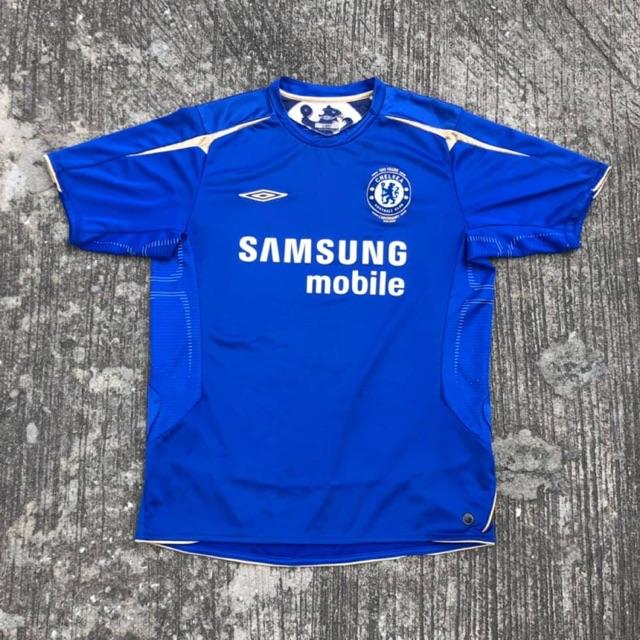 เสื้อบอลแท้ Chelsea 2005