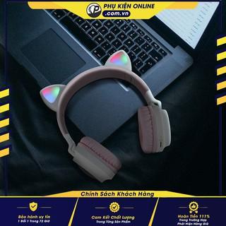 [HOT] - Tai nghe Bluetooth tai mèo đẹp mắt cá tính - BT28 Màu sắc đa dạng, thoải mái lựa chọn khoe cá tính