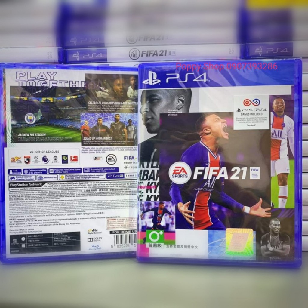 Đĩa Game FIFA 21 Standard Edition US