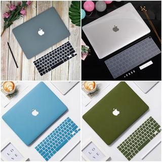 Ốp Macbook Kèm Phủ Phím, Nút Chống Bụi, Kẹp Chống Gẫy Sạc thumbnail