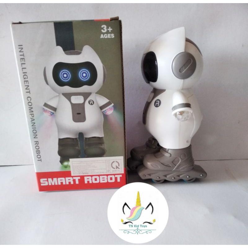 Đồ Chơi Robot Trượt Băng – Nhạc – Đèn Phát Sáng