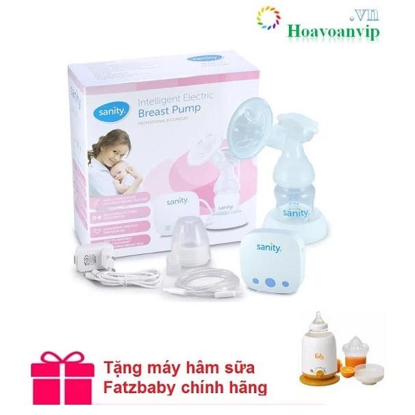 Máy Hút Sữa Điện Đơn Sanity Ap154ae Tặng máy hâ