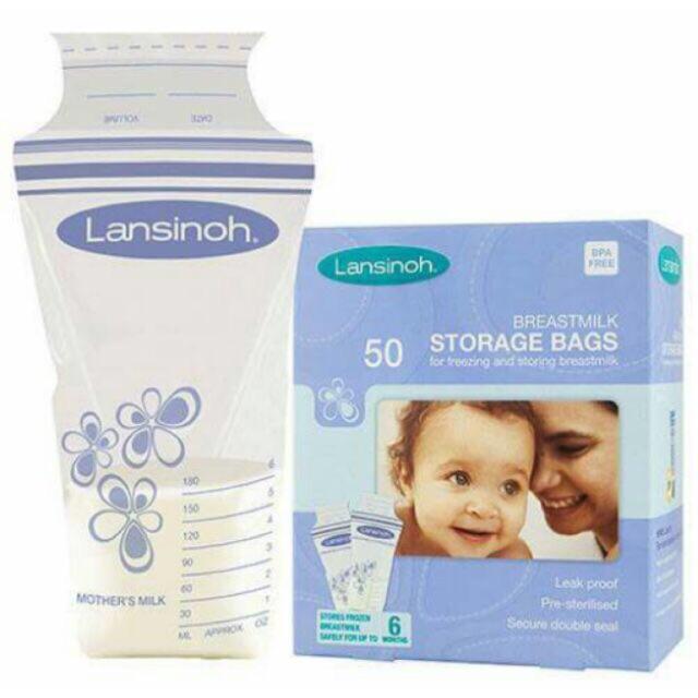 50 túi trữ sữa Lansinoh Mỹ - 3018088 , 136006537 , 322_136006537 , 260000 , 50-tui-tru-sua-Lansinoh-My-322_136006537 , shopee.vn , 50 túi trữ sữa Lansinoh Mỹ