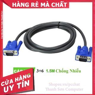 [Mã PC10K20X hoàn đến10K xu] Dây VAG Tròn xanh đen 1.5m – Linh Kiện Phụ Kiện PC Laptop Thanh Sơn