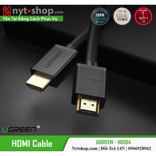 [Mã ELSEP10K giảm 10k]Cáp HDMI 2.0 Dài 1-3m Cao Cấp UGREEN HD104