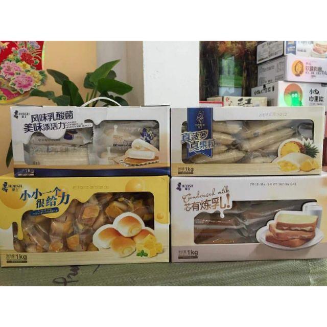 [HCM] Hộp 1 kg các loại bánh ông già Horsh