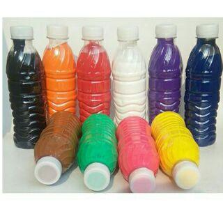 Màu nước tô tượng 500ml-vẽ lên giấy