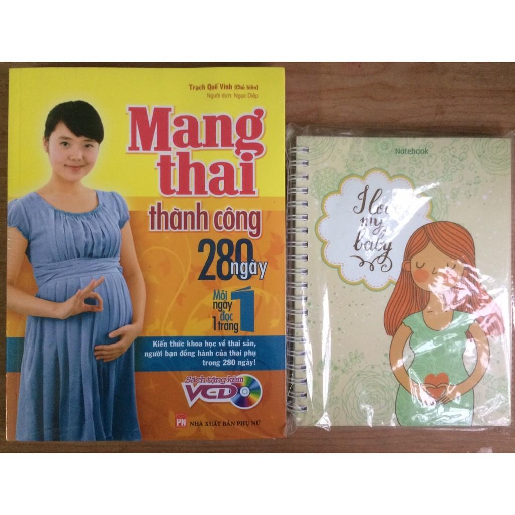 (Sách Thật) Combo Mang Thai Thành Công 280 Ngày Mỗi...