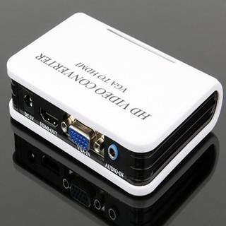 Bộ chuyển đổi tín hiệu HDMI sang VGA có hỗ trợ Audio loại cao cấp -từ máy tính, laptop sang TV,máy chiếu -dc537