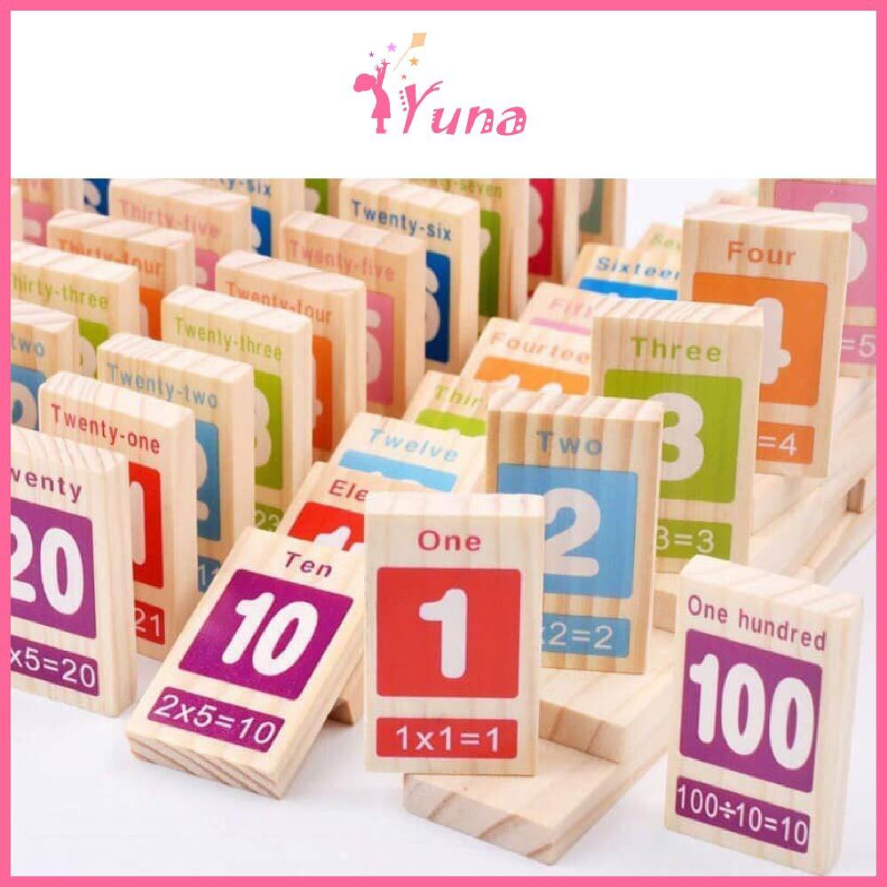 Domino 100 số - Đồ chơi thông minh cho bé