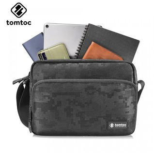 Túi iPad -Tablet Đeo Chéo Tomtoc Lightweight Cross Body (A02 - Kiểu Ngang)