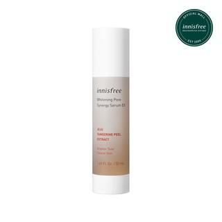 Tinh chất dưỡng sáng da và se khít lỗ chân lông innisfree Whitening Pore Synergy Serum EX 50ml