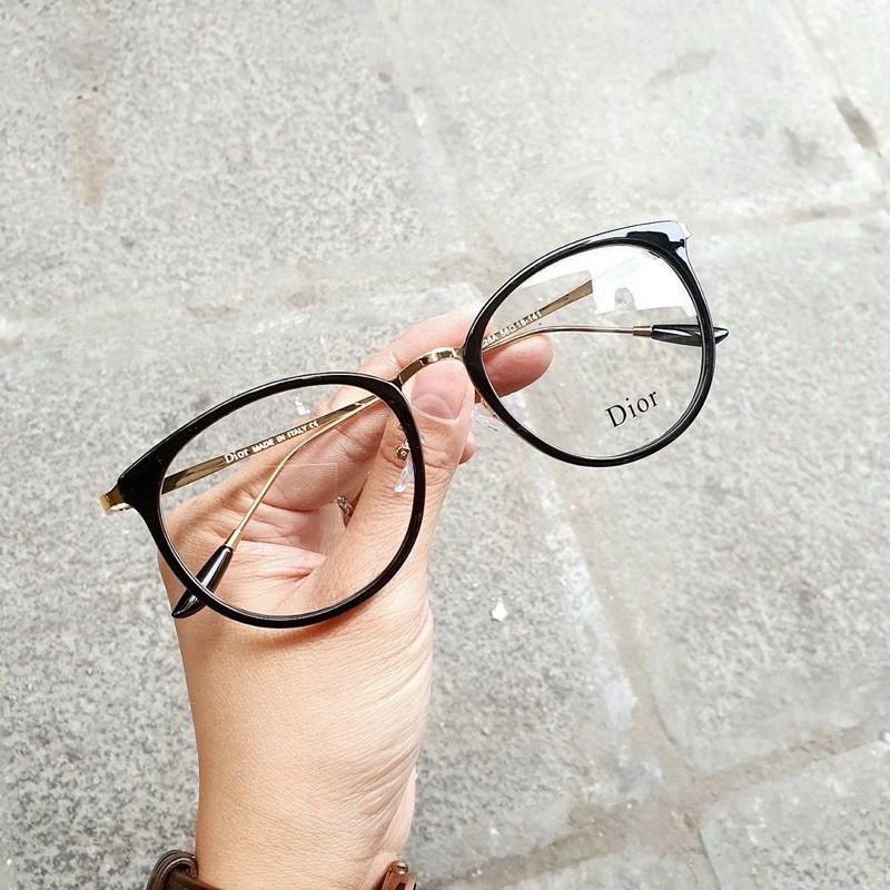 [Rẻ Vô Địch] Gọng kính trứng dior 9228-9226 cao cấp kim loại chắc chắn - Jolie Eyewear