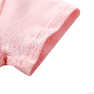 Đầm tay ngắn in họa tiết hoạt hình động vật dễ thương cho bé gái