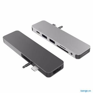 Cổng chuyển Hyperdrive SOLO 7 in 1 USB-C Hub cho MacBook và PC - GN21D