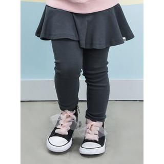 Quần váy cotton 1 tầng Pe-tite Mieu xuất Hàn cho bé gái - SP352 (3 màu)