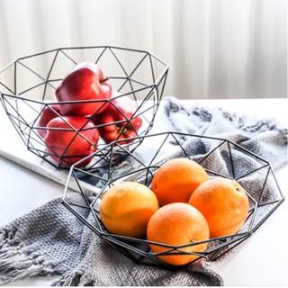 Rổ kim loại đựng trái cây đa năng tiện dụng