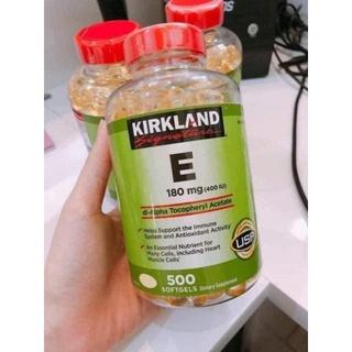 [Mã 1010FMCGSALE1 giảm 10% đơn 250K] Vitamin E 400 IU Kirkland 500 Viên Của Mỹ thumbnail