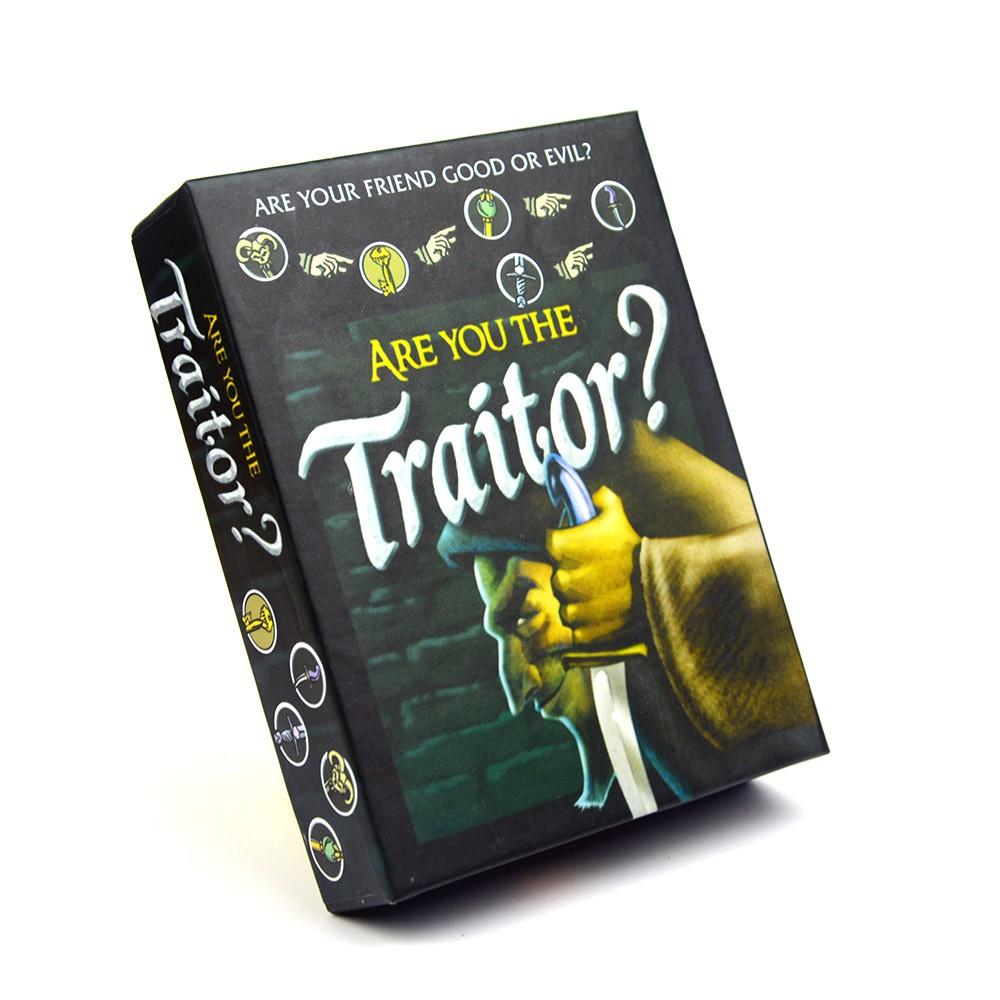 Trò chơi nhập vai Are you the Traitor? - Ai là kẻ phản bội?