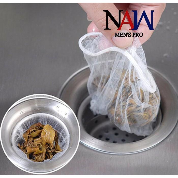 100 túi lưới lọc rác TR.01 chậu rửa tiện lợi, vệ sinh