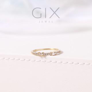 Nhẫn bạc cao cấp Hàn Quốc đá chữ nhật TPHCM Gix Jewel SPGN26 thumbnail