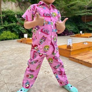 Bộ Đồ Ngủ Pijama Chất Lượng Cao Cho Bé Từ 1-5 Tuổi